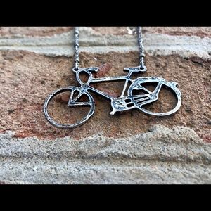 American Eagle Bicycle Necklace 🚲